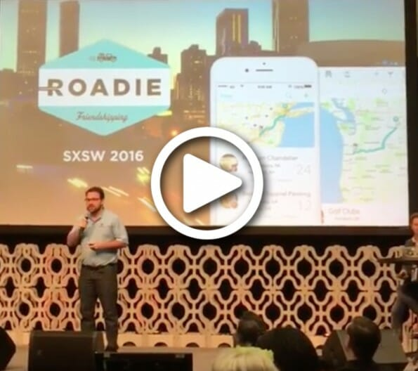 Roadie Pitches at SXSW 2016