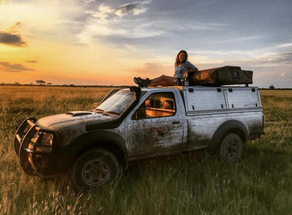 Chobe National Park road trip adventure