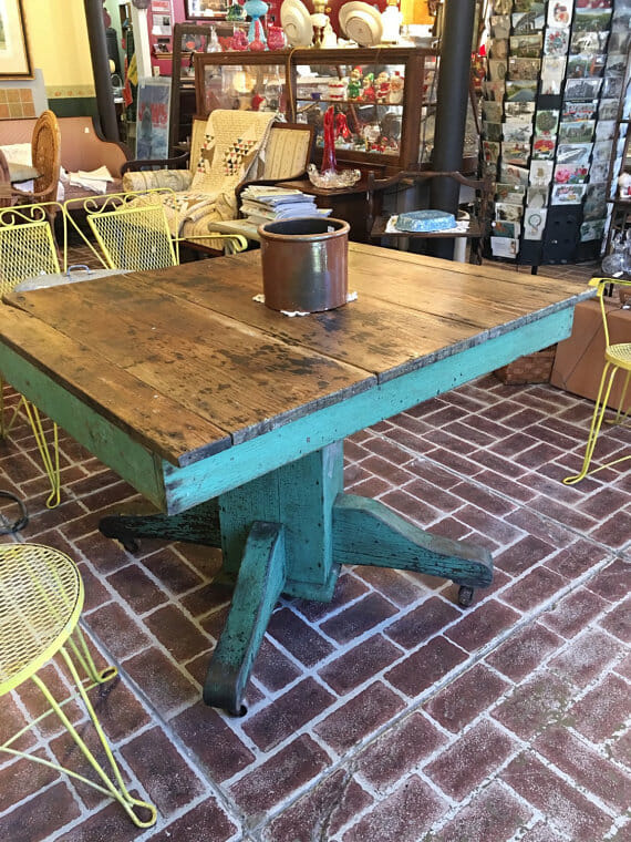 outdoor farm table shipping
