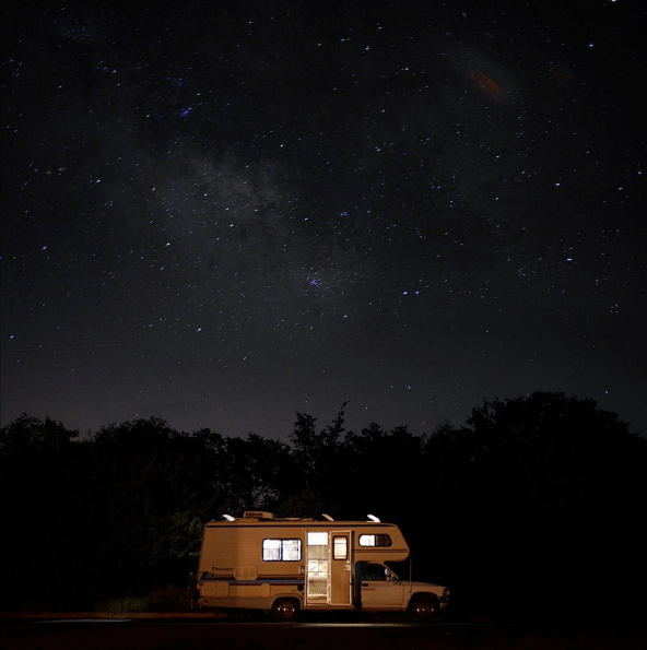 """From trailhead to tasting room! No better way to celebrate our Half Dome success than with delicious wines and a free night under a bazillion stars."" (Photo: @yes_kamp) best road trip photos"
