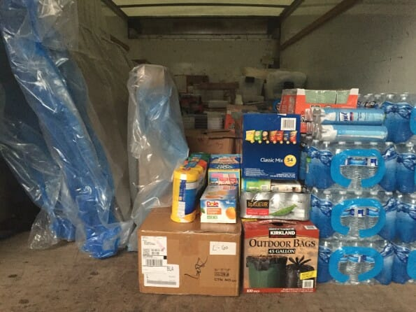 Baton Rouge flood supplies