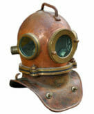 Ship antiques like a diving helmet with Roadie