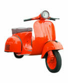 Send your vespa with Roadie's large package delivery service