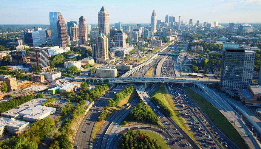 Last mile enterprise delivery in Atlanta