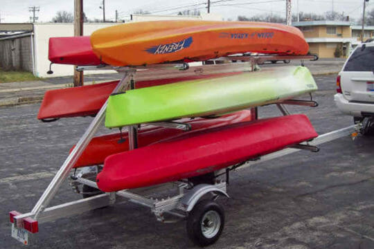 Same day shipping for kayaks and canoes