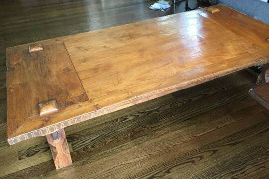 Ship antique tables with Roadie