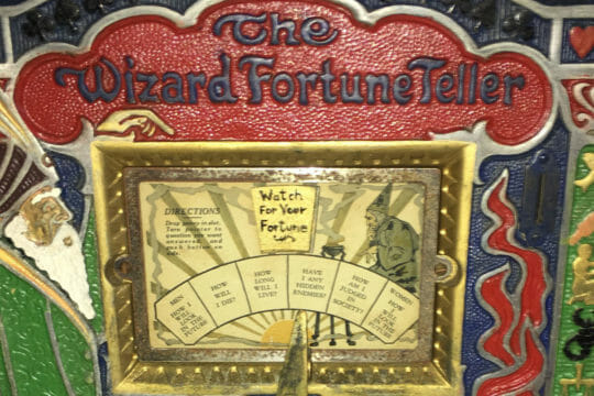 Ship Antique Fortune Teller Machine With Same Day Shipping