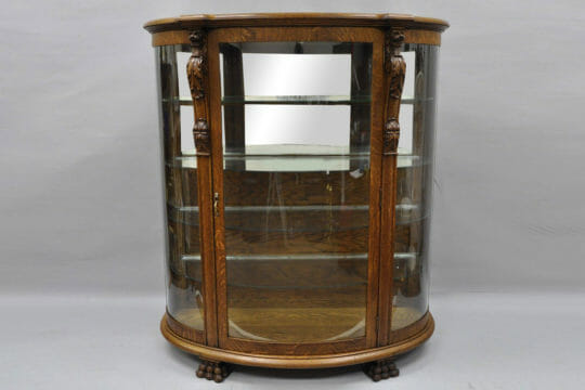 Ship antique China cabinet easily