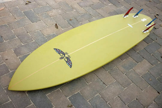Next day delivery for your surfboard