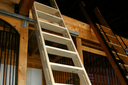 Use Roadie for same day shipping on loft ladders