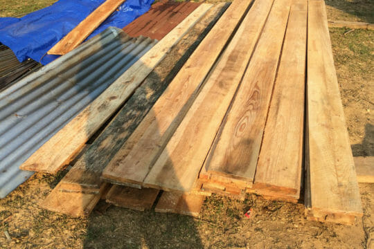 Shipping solutions for plywood and building materials