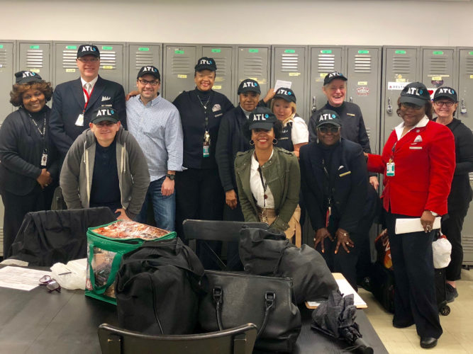 Delta Roadie bag delivery partnership