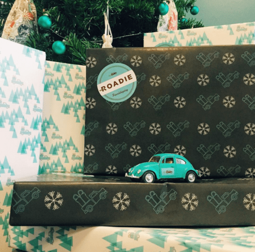 Roadie Wrapping paper