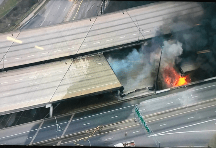 i 85 collapse
